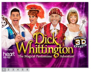 Dick Whittington Pantomime Performance